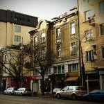 """Фасадата от към бул.""""Дондуков"""""""