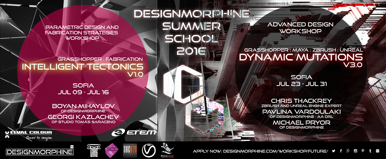 2016_DesignMorphine Summer School